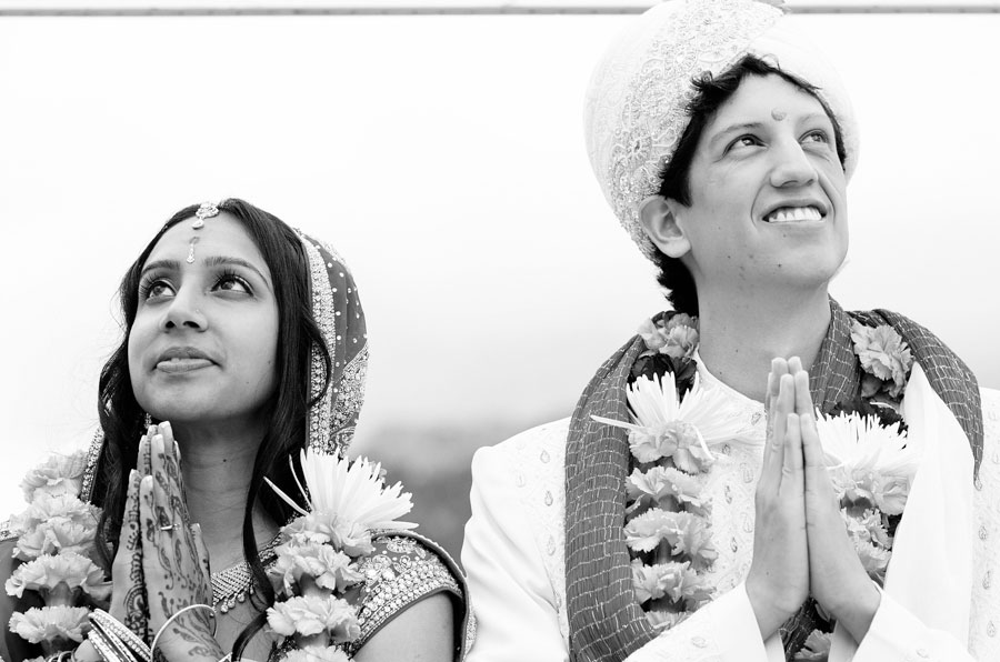 traditional south asian wedding at wild basin lodge