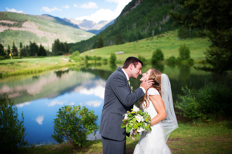 Beautiful wedding portraits in Vail, Colorado. www.TrueNorthPhotography.org Kira (Horvath) Vos
