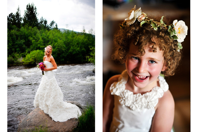 Mountain wedding photographer at Wild Basin Lodge in Estes Park, Colorado. www.TrueNorthPhotography.co Kira (Horvath) Vos