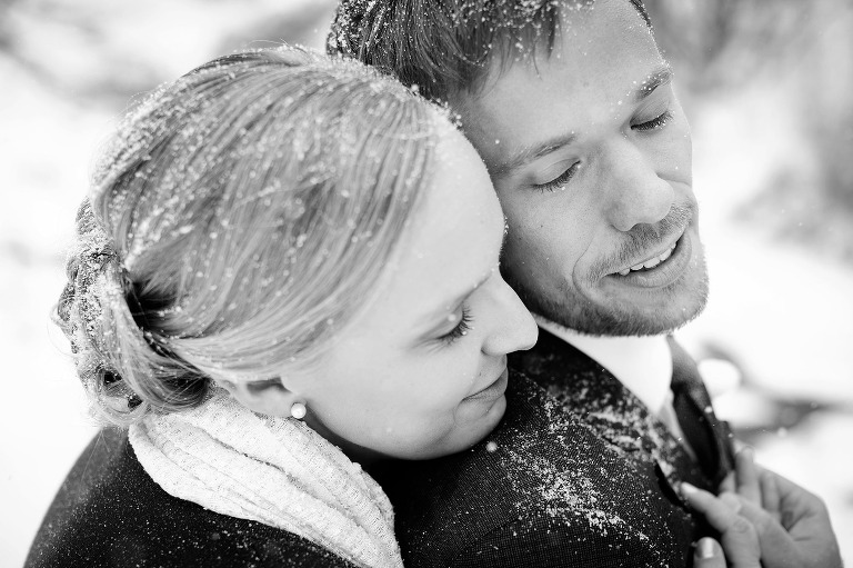 Wedgwood winter wedding photography in Boulder, colorado. www.TrueNorthPhotography.co Kira (Horvath) Vos