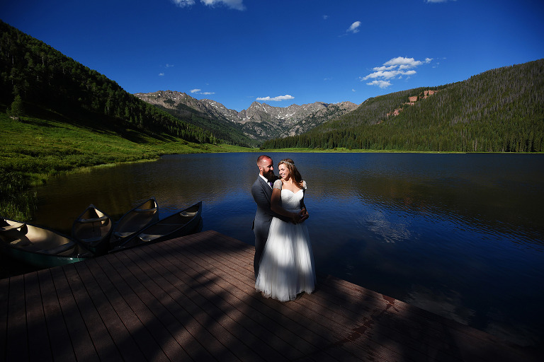 Destination wedding venues in Colorado by wedding photographer True North Photography Kira Vos (Horvath).