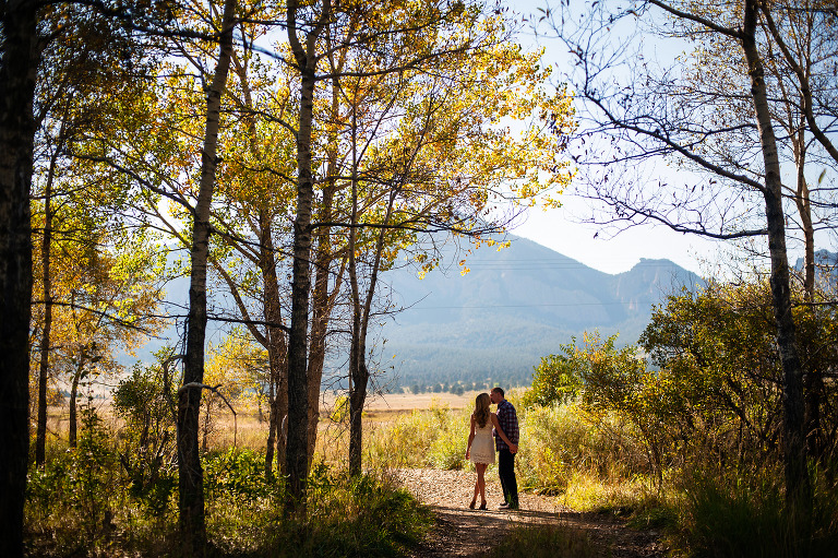 Colorful Engagement photography from Boulder, Colorado by destination wedding photographer Kira Vos (Horvath) with TrueNorthPhotography.org