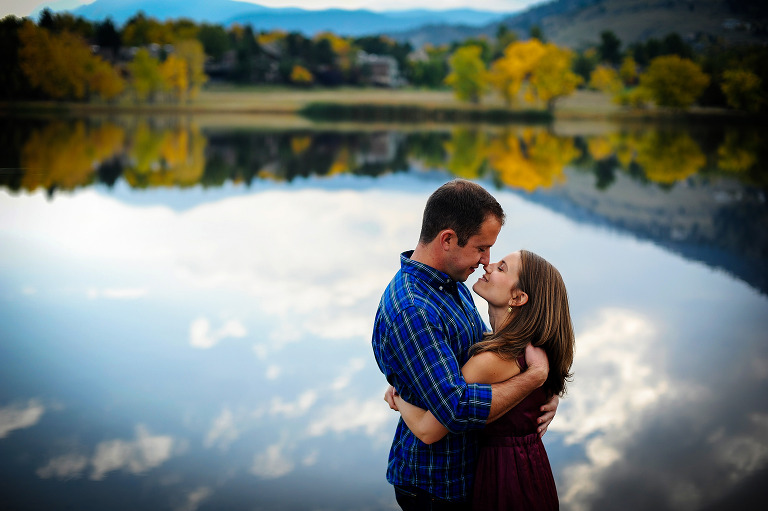 Engagement photographers from Vail, Colorado by destination wedding photographer Kira Vos (Horvath) with TrueNorthPhotography.org